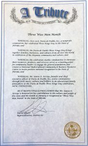 Proclamation Fiesta de Pueblo 2018 House